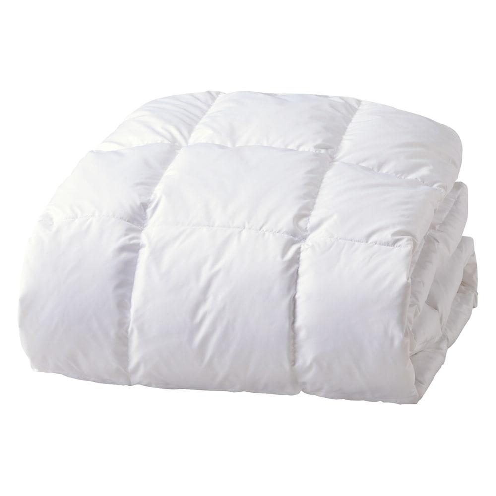 敷く羽毛布団!羽毛敷きパッド 空気をたっぷり含んだ羽毛と細かいキルトでふかふか。お手持ちの敷布団にもお使いいただけます。