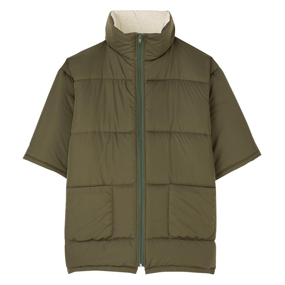 バージョンアップしました!昨冬人気のテイジンV-Lap(R)使用 着る布団シリーズ 肩カバー (イ)カーキ ロングポンチョ
