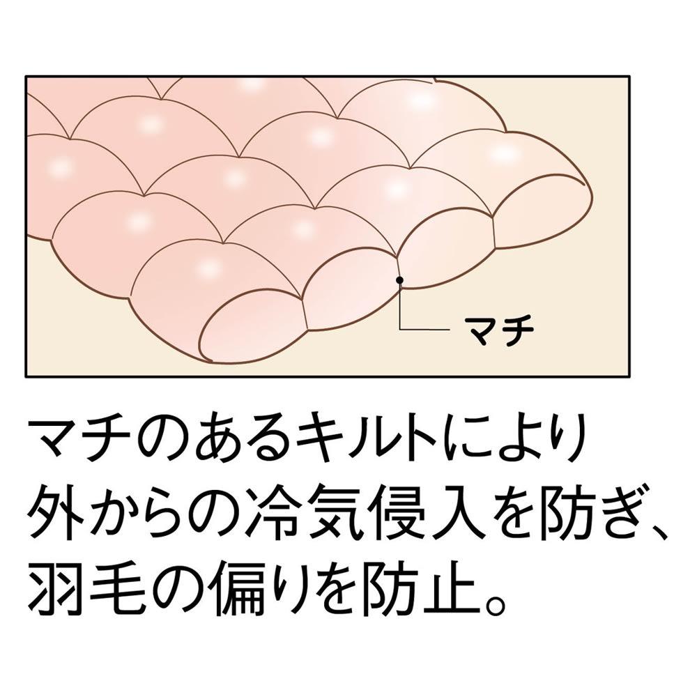昭和西川 カナディアン 2枚合わせ羽毛掛け布団