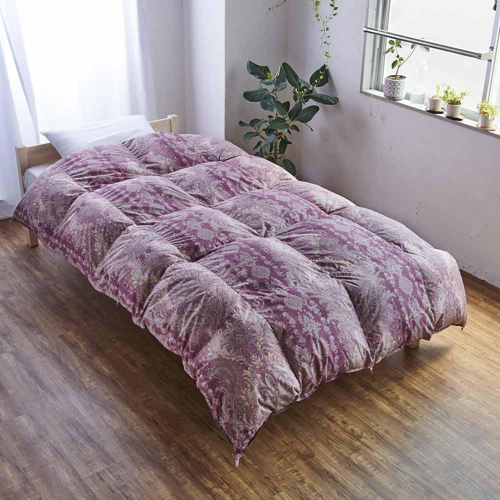 バーゲン寝具シリーズ 羽毛布団(ライトタイプ) シングルロング