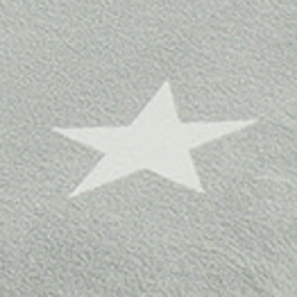 星柄アクアジョブ(R)シーツ ファミリータイプ (ア)グレー