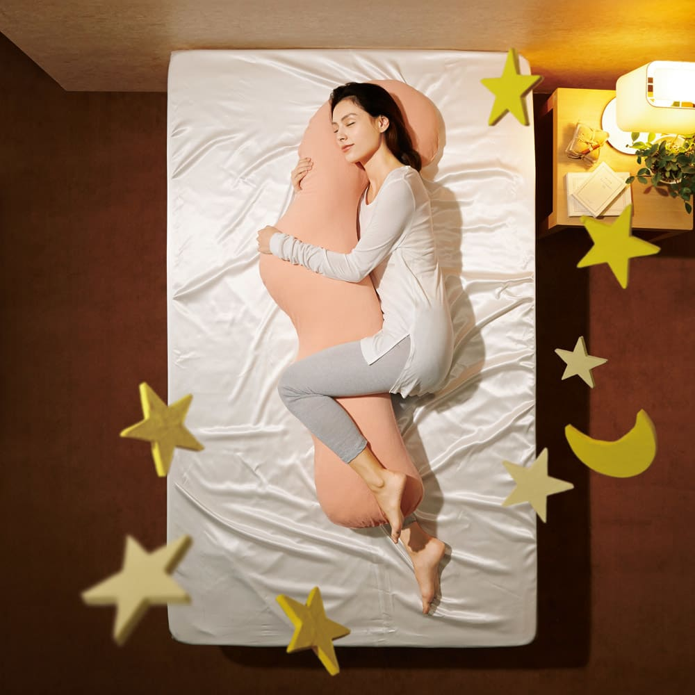 岡山県立大学とコラボ! 睡眠モードに切り替える 魔法の抱き枕(R)本体 心地よい眠りを誘う大人気の抱き枕※ワイドタイプ