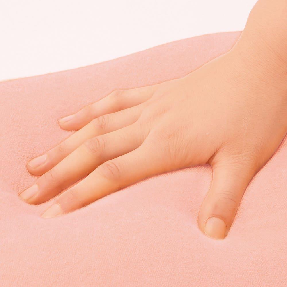 岡山県立大学とコラボ! 魔法の抱き枕(R)洗える専用替えカバー単品 眠りを誘う肌触り 触り心地で厳選したほわほわパイルがリラックスを誘います。