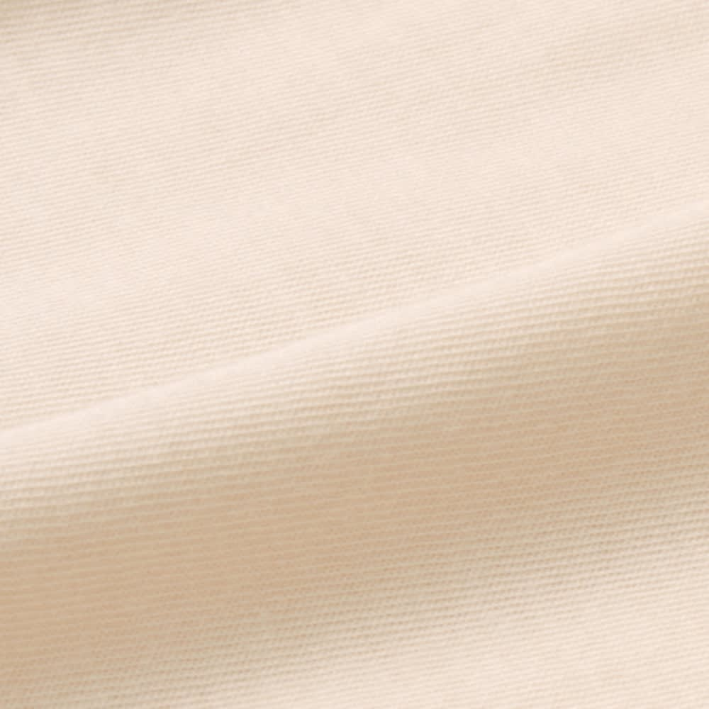 1年中使えるふんわりニットの調温シーツ&カバー ピローケース(同色2枚組) [生地アップ] (ウ)アイボリー 超長綿と調温レーヨンを混紡して天然由来の心地よさに快適さをプラス!