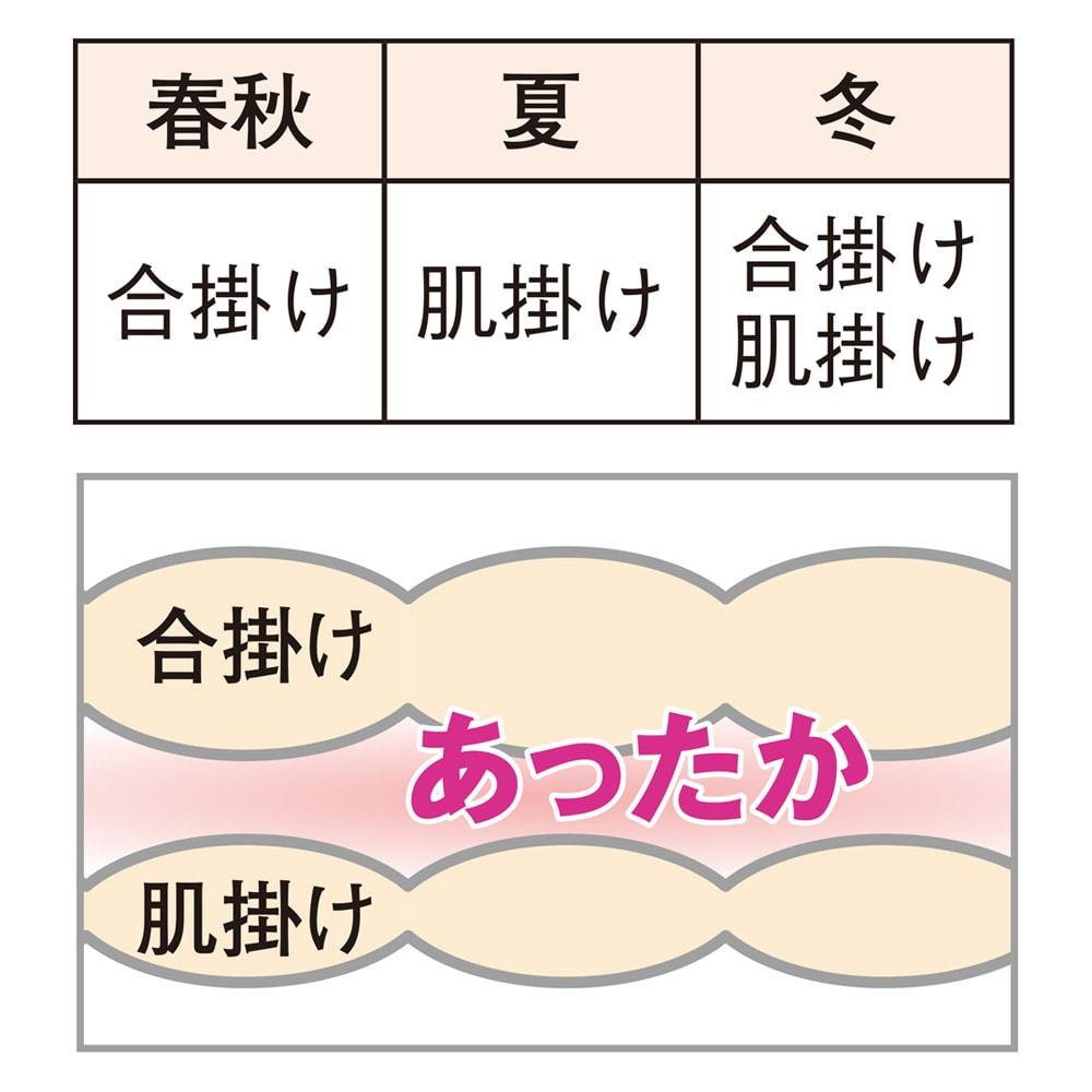 【西川】新生活シングル5点セット 空気層が暖かさの秘密