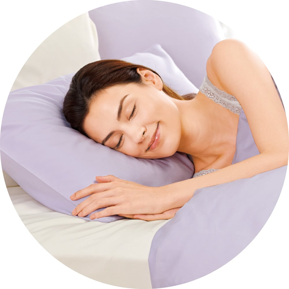 スーパーソフト加工 ベッドスカート フリルタイプ 肌に触れるものだから、やさしい天然のコットンを使用。