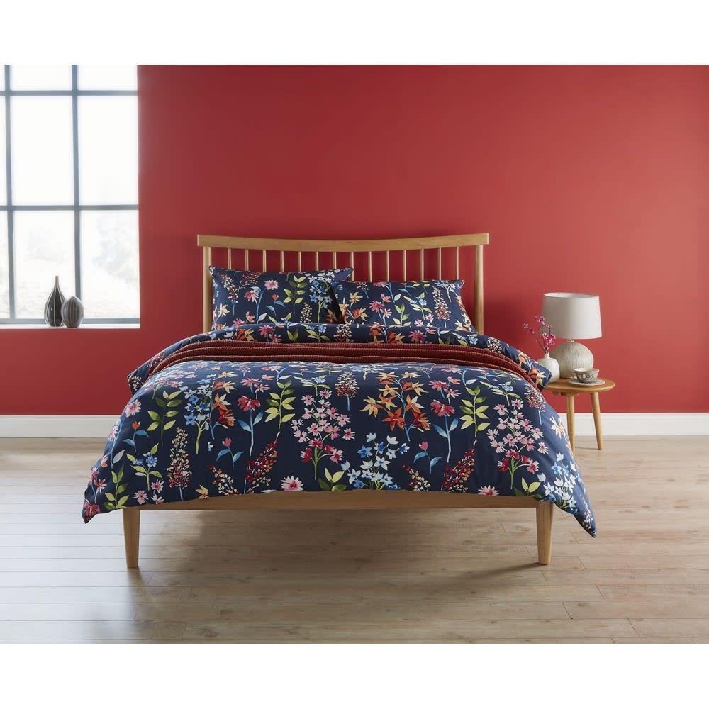 クリスティリビング枕カバーイングリッシュガーデン コーディネート例 ※お届けは枕カバーです。