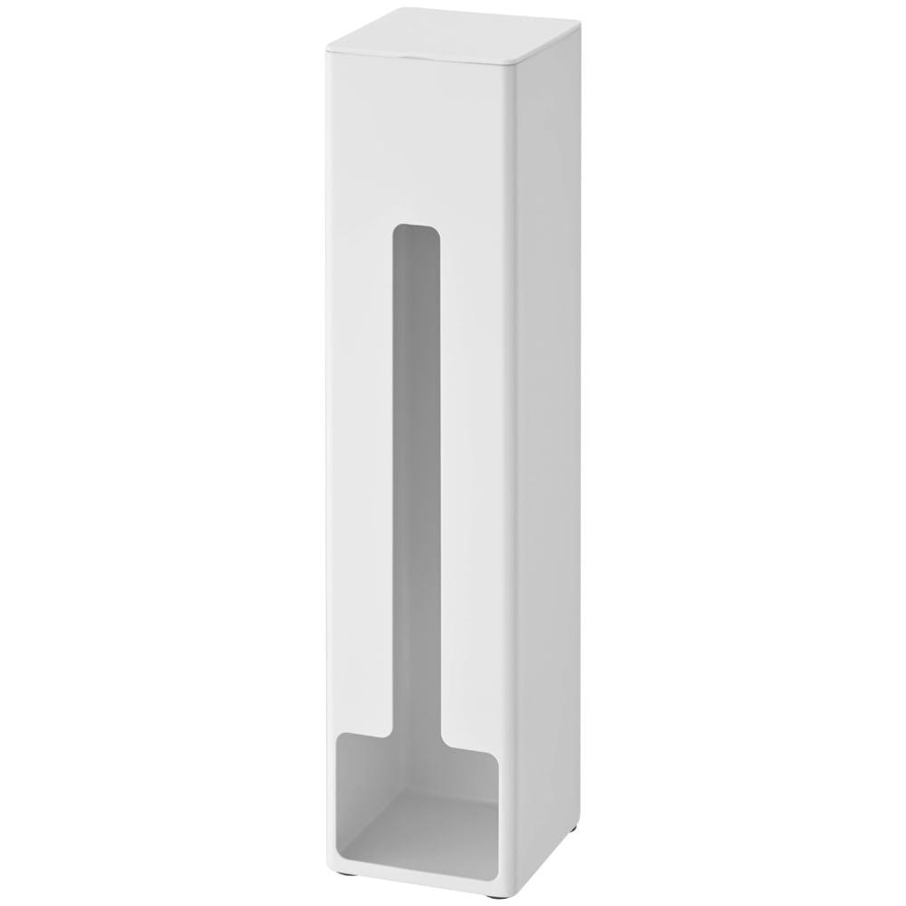 ポリ袋ストッカー タワー (ア)ホワイト