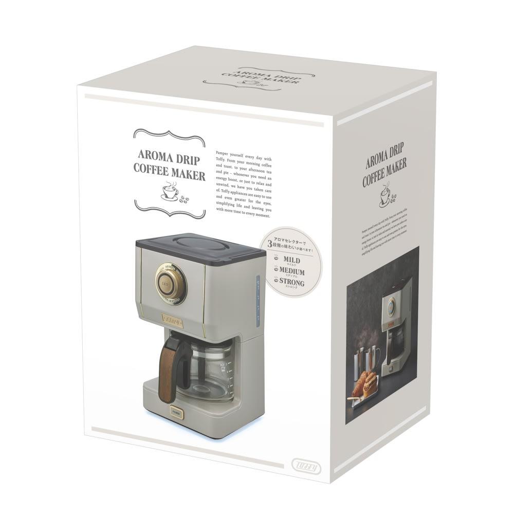 Toffyアロマドリップコーヒーメーカー
