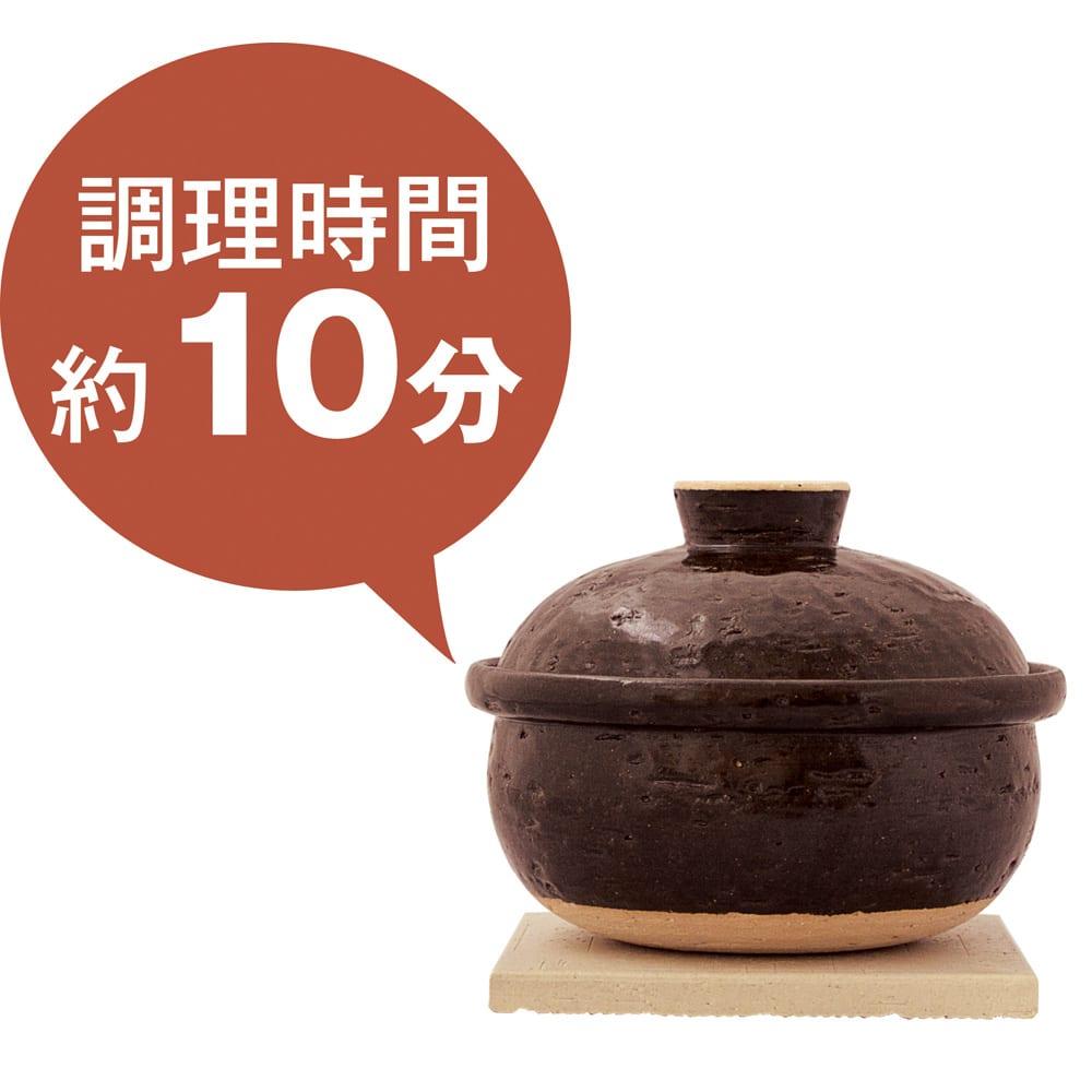 スモーク料理を簡単に!煙の出ない燻製鍋 【ミニタイプ】 ※食材により加熱時間が異なります。
