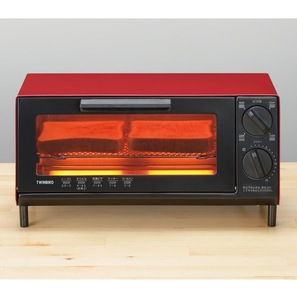 トーストが美味しいコンパクトミラーオーブントースター