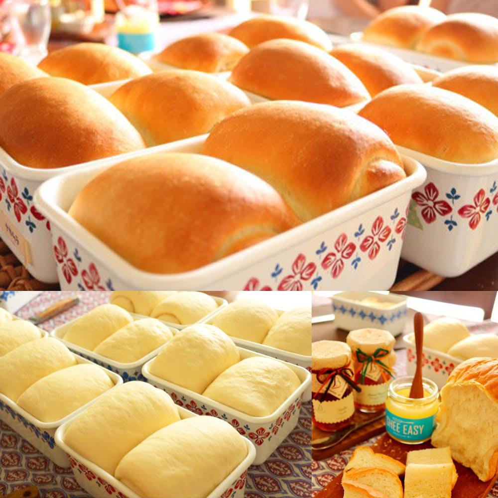 富士ホーロー クッカシリーズ ホーロー深型角容器M オーブンで使えるのでパン型としても。