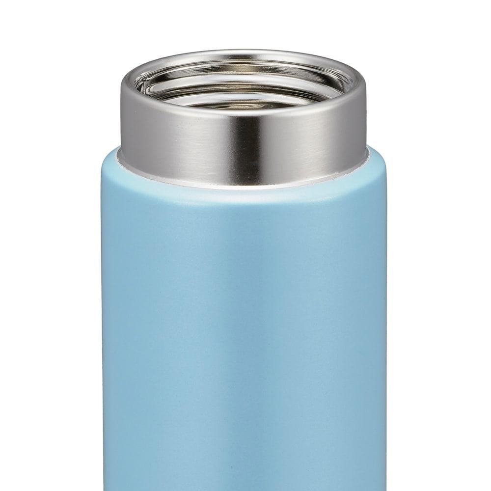 タイガー魔法瓶ステンレスミニボトル〈サハラマグ〉 300ml マグカップのような口あたり。なめらか飲み口(MMP-J型、MMZ-A型)。ステンレスの清潔さと、飲み心地の良さを両立させたなめらか飲み口。飲み口専用のパーツがないのでお手入れも簡単です。