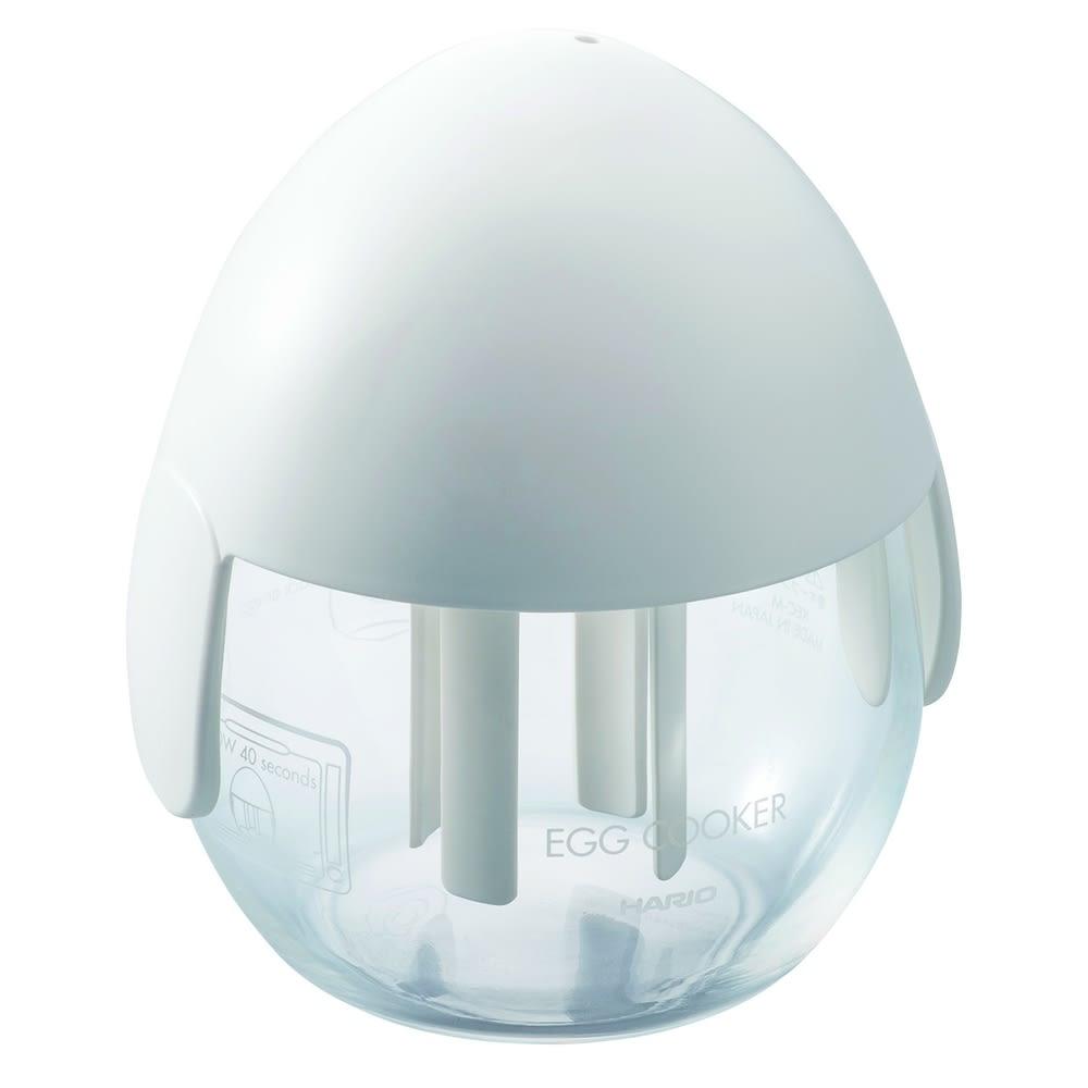レンジでチンして目玉焼き! HARIO/ハリオ エッグクッカー 2個セット ホワイト1