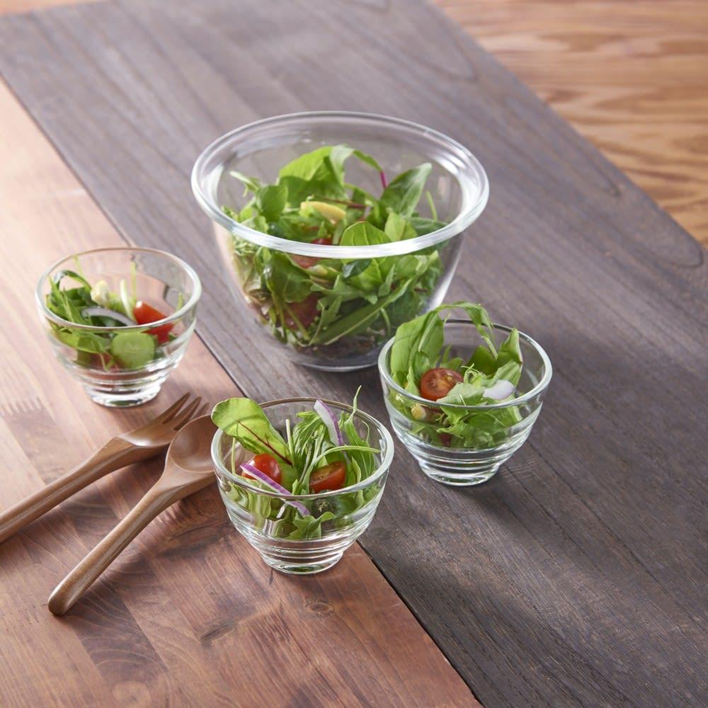 HARIO/ハリオ 耐熱ガラスカップ5個セット ガラスの湯飲み 使用例(お届けするのはカップのみ)