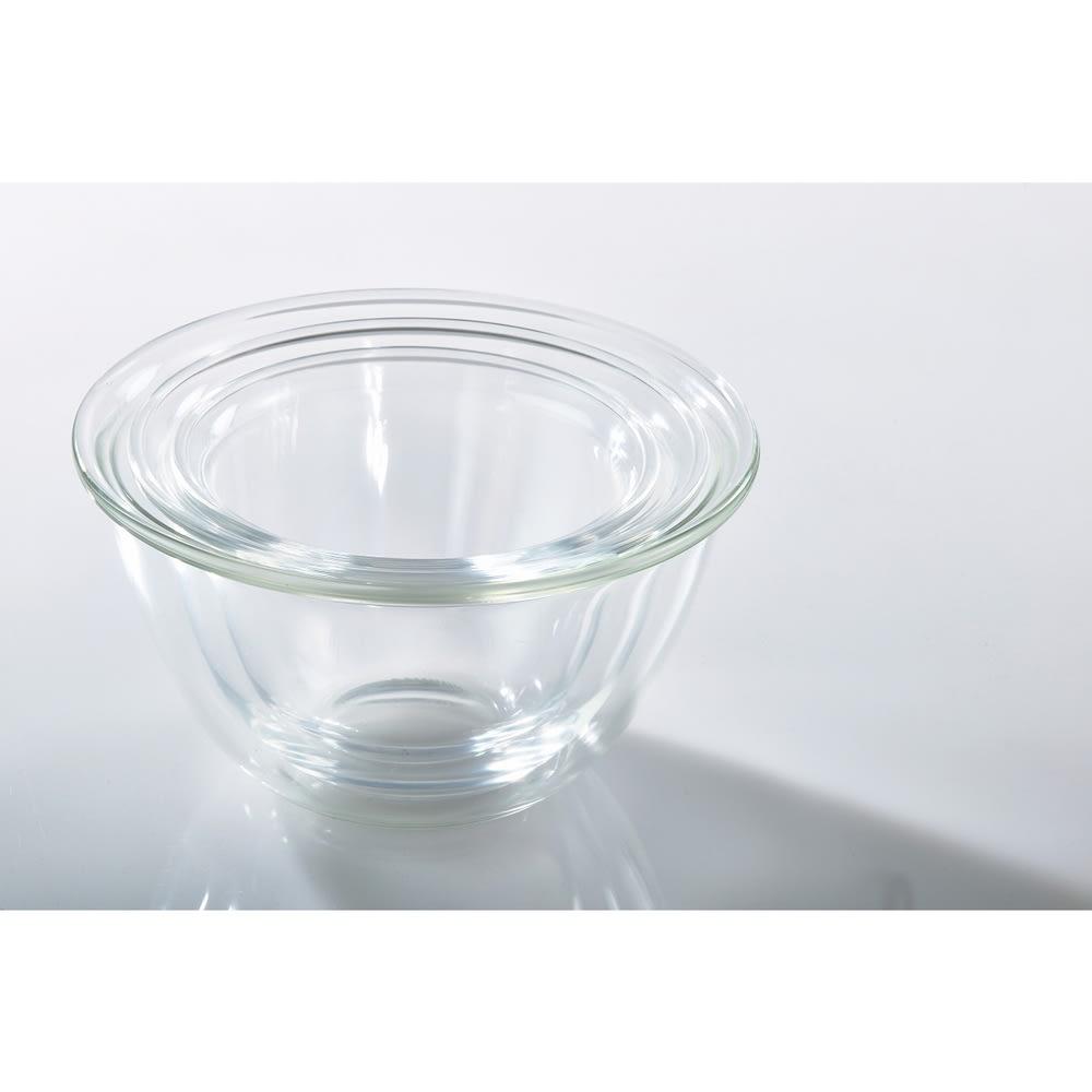 HARIO/ハリオ 耐熱ガラス製ボウル3個セット