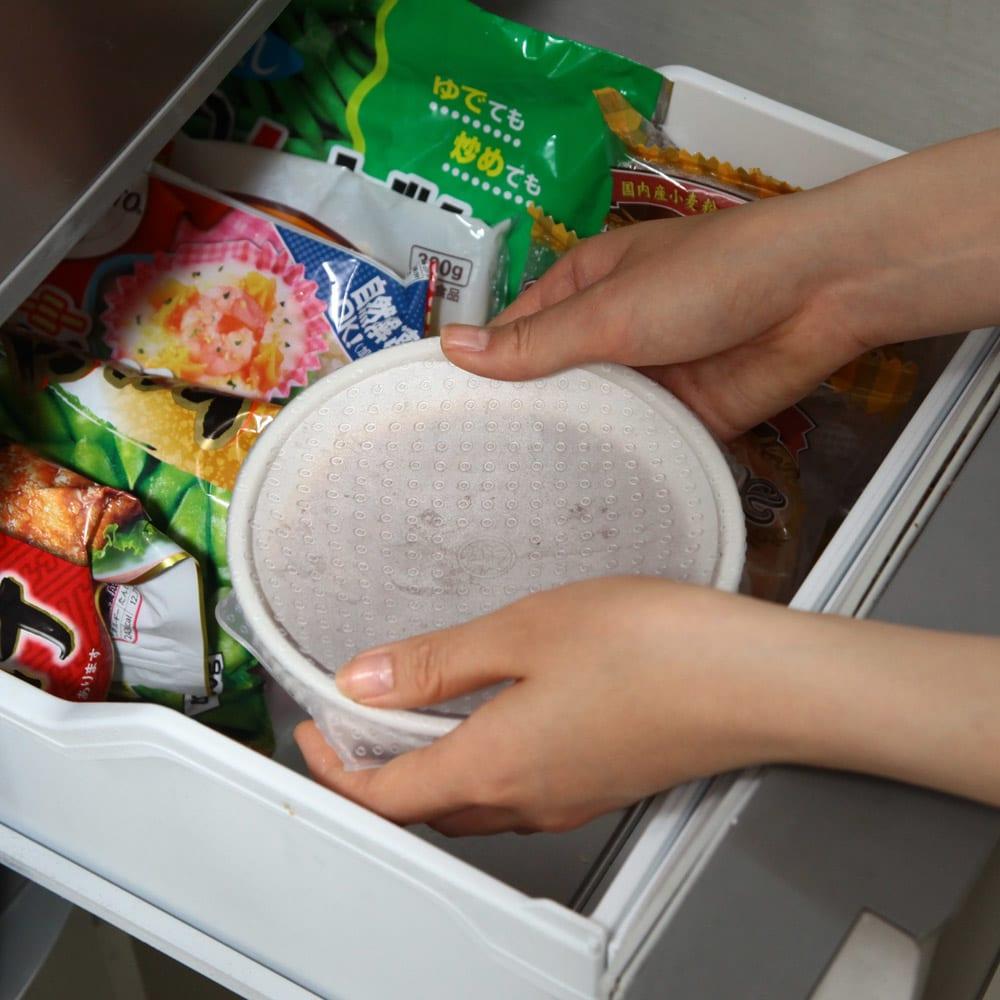 洗って繰り返し使える!シリコンラップ S・M・L 3枚組 冷凍庫もOK。(耐冷-40℃)