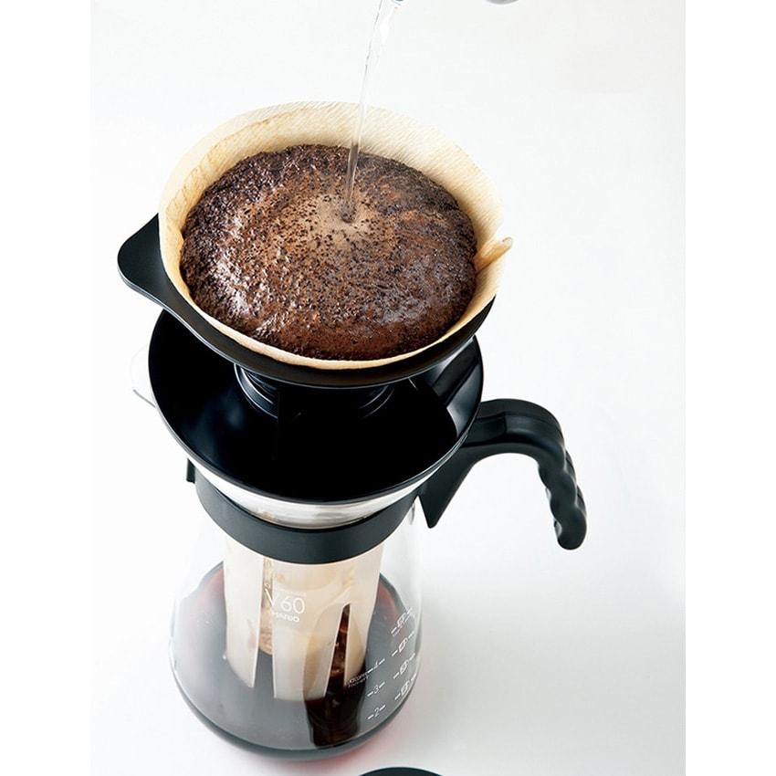 HARIO/ハリオ V60アイスコーヒーメーカー 3、コーヒーをドリップします
