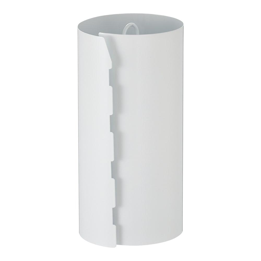 キッチンペーパーホルダー 1個 (イ)ホワイト