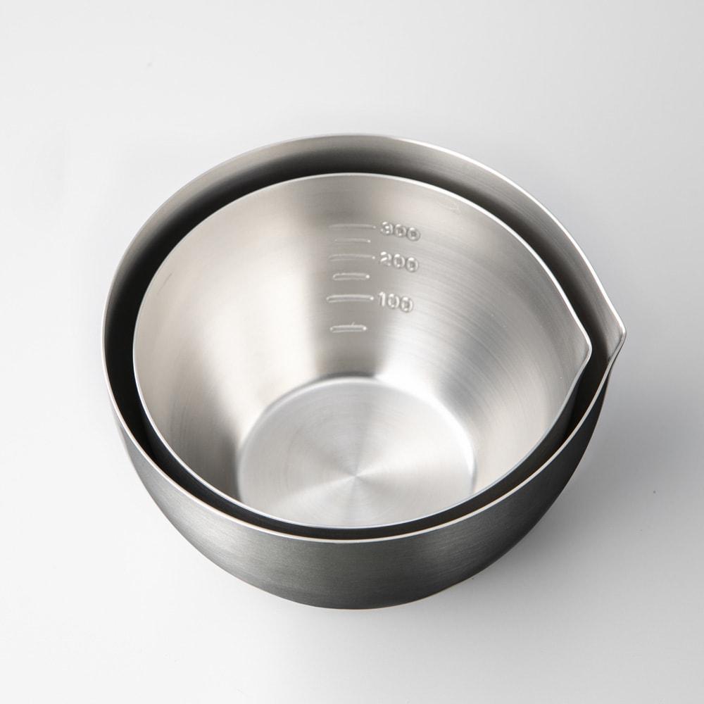 家事問屋 省スペースミニボウル4点セット(径11cm・径13cm 各2個) 重ねてコンパクトに収納できます。
