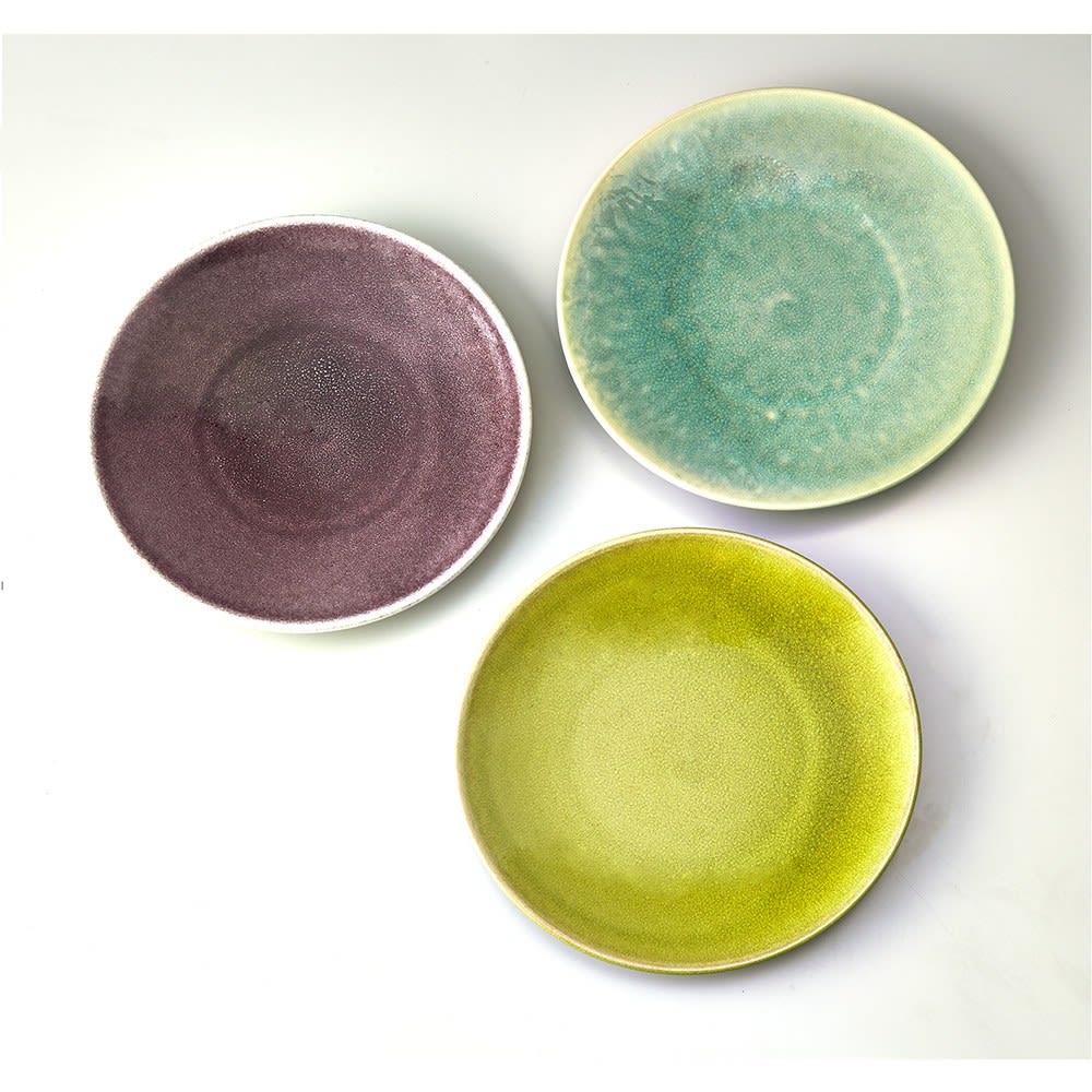 Jars/ジャス ディナープレート TOURRON 一枚でも、複数の色を組み合わせてもおしゃれです。