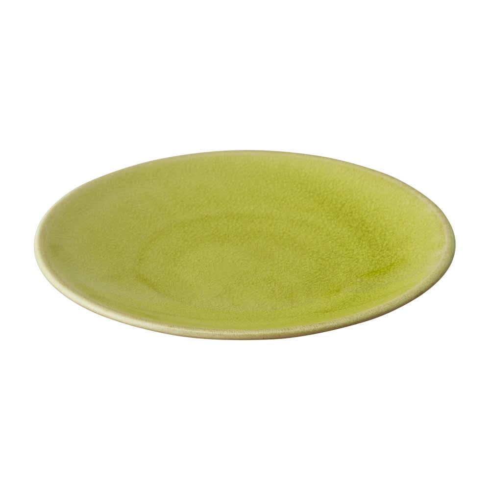 Jars デザートプレート TOURRON (ウ)アボカド 一枚あるだけで目を引く、かわいいカラーです。