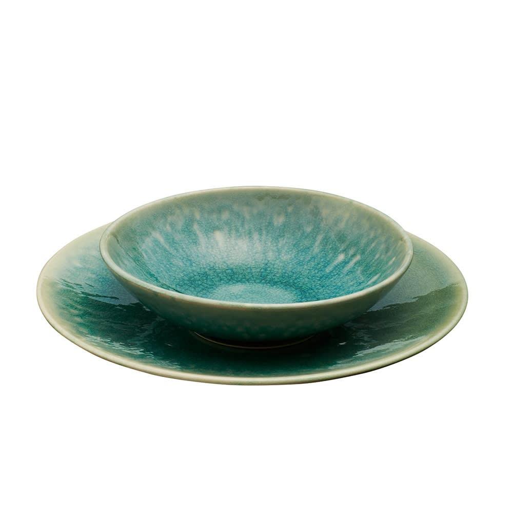 Jars/ジャス ディナープレート TOURRON 同色2枚組 スーププレートの下に重ねると、フォーマルなテーブルコーディネートが叶います。
