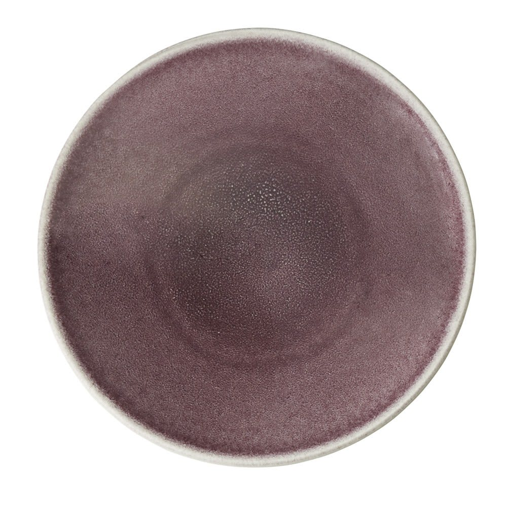 Jars/ジャス ディナープレート TOURRON 同色2枚組 (イ)パープル 上品で温かみのある落ち着いた色彩。