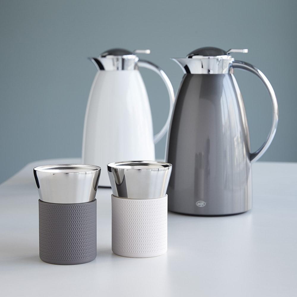 alfi/アルフィ 真空断熱タンブラー アルフィステンレスポットに合わせたカラー6色展開のカップです。