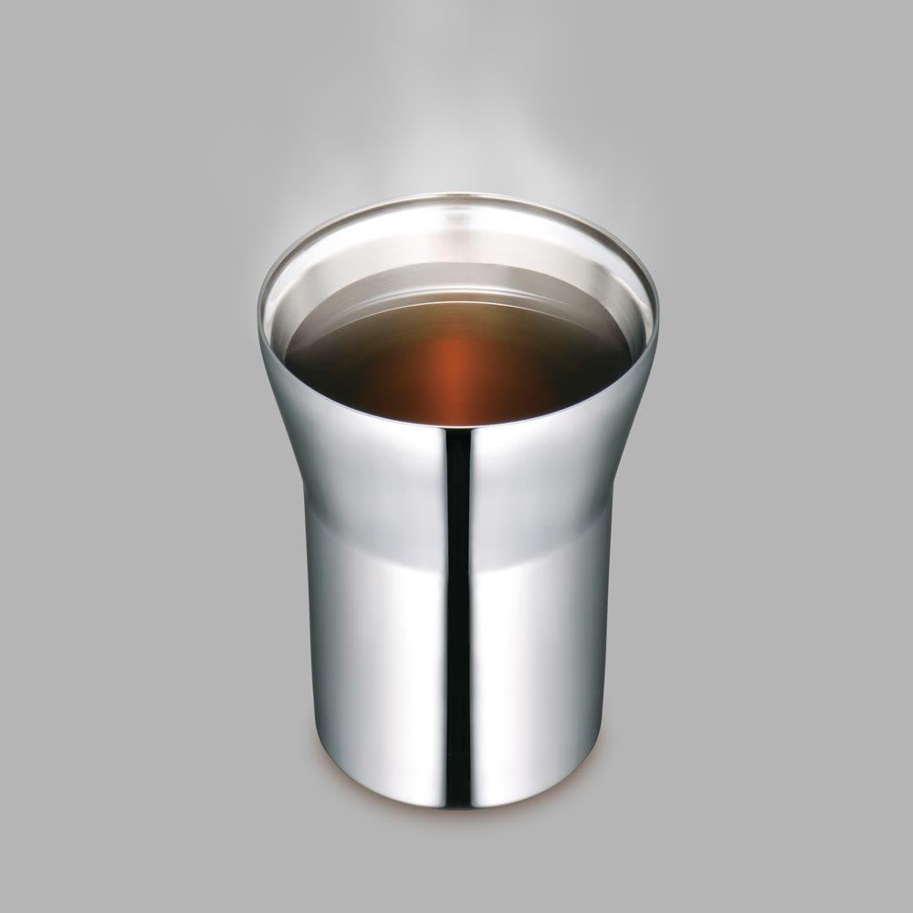 alfi/アルフィ 真空断熱タンブラー 空断熱構造で冷たさ・温かさ長持ちします。