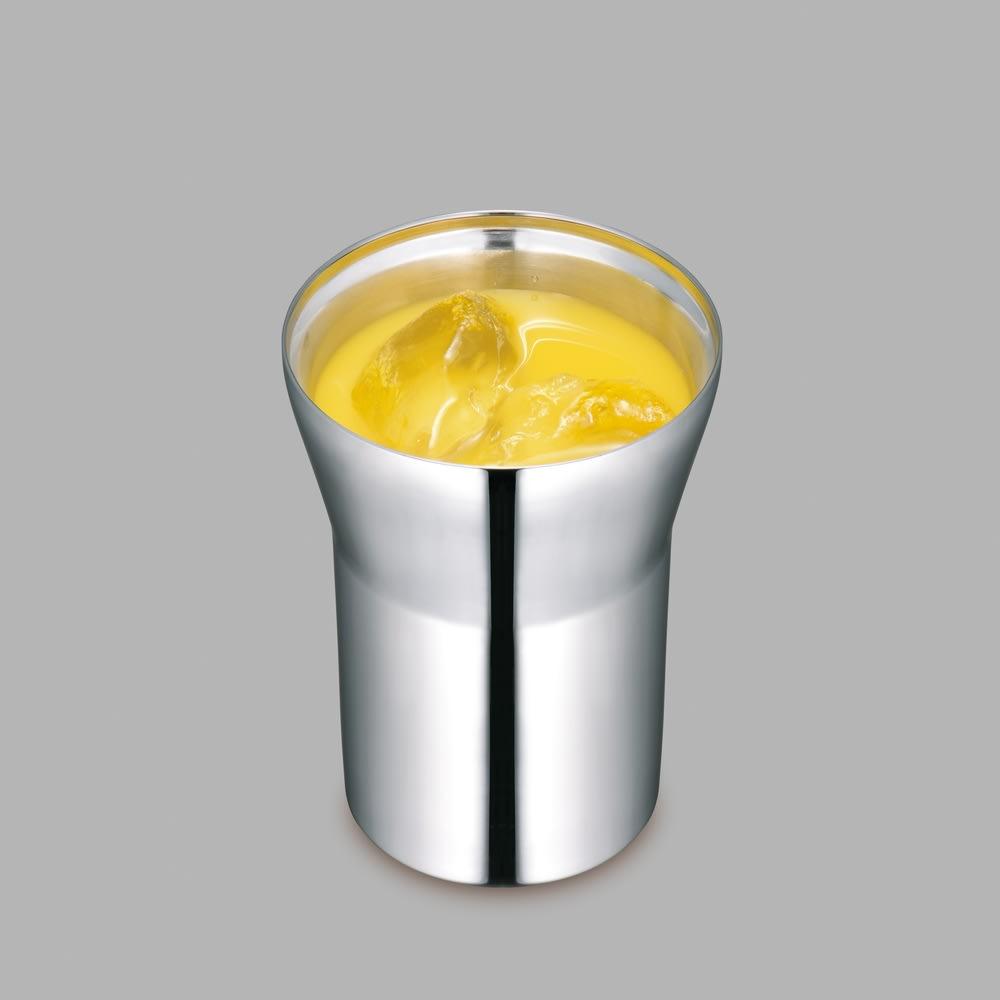 alfi/アルフィ 真空断熱タンブラー 氷が溶けにくいから味が薄まらず、冷たい飲み物も最後までおいしく飲めます。