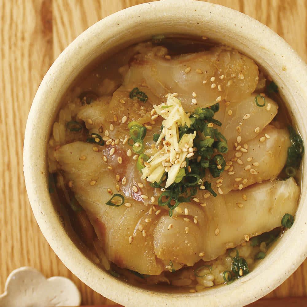 伊賀焼長谷園 陶器のおひつ陶珍 1合用 熱々のブリのあつめし