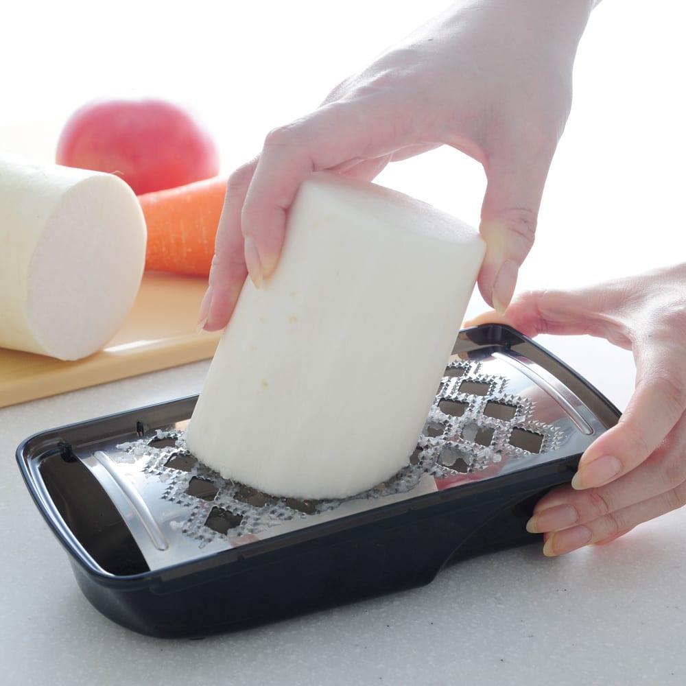 キッチン 家電 鍋 調理器具 包丁 ナイフ スライサー類 ふわっとおろしてみま専科 WX0737
