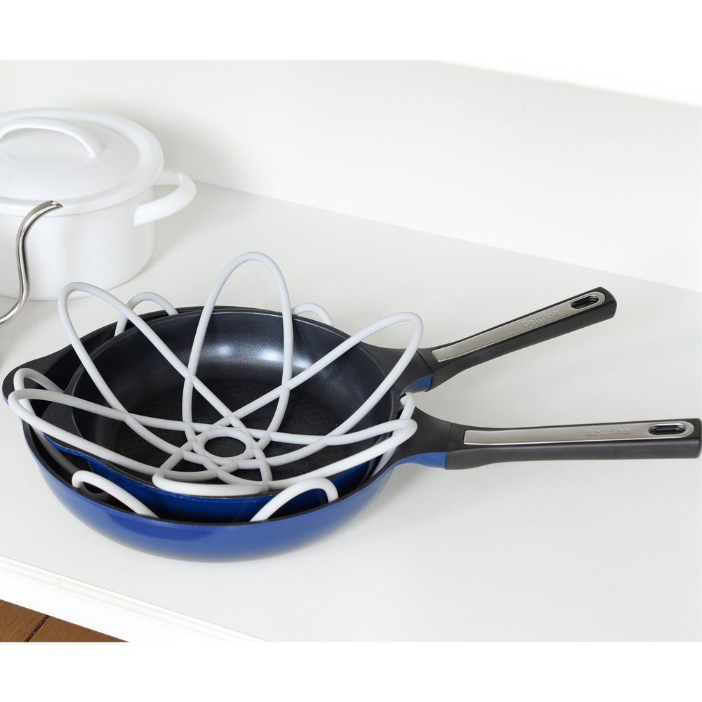 キッチン 家電 キッチン用品 キッチングッズ テーブル小物 フライパン保護シート マモリーナ2枚組 WX0739