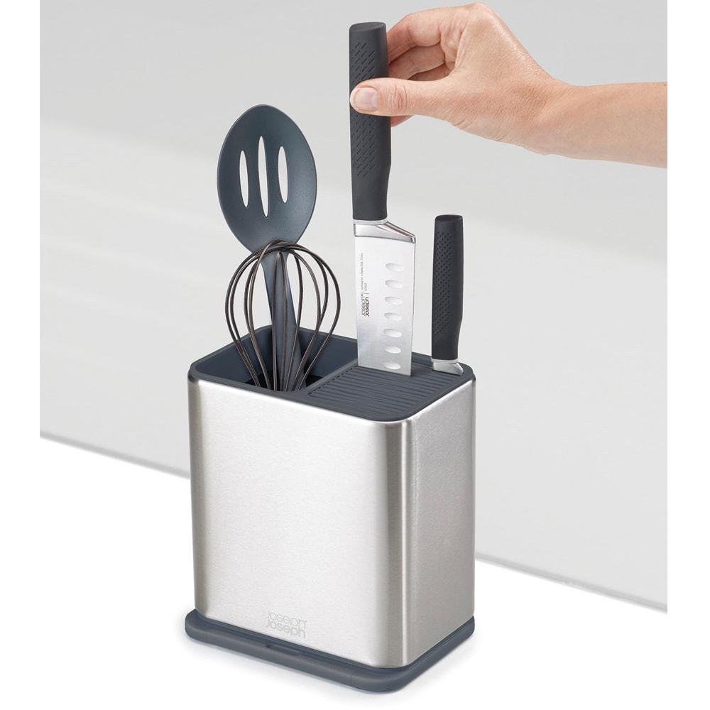 キッチン 家電 キッチン用品 キッチングッズ 調理台上 シンクまわり小物 josepjoseph /ジョセフジョセフ サーフィス ユテンシルスタンド ツールスタンド WX0775