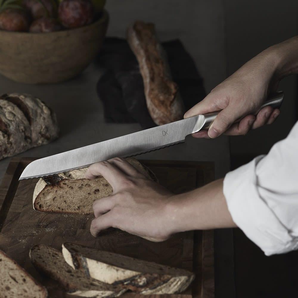 キッチン 家電 鍋 調理器具 包丁 ナイフ スライサー類 DYK(ダイク) 食洗機OK! パン切り包丁 シルバー WX0910