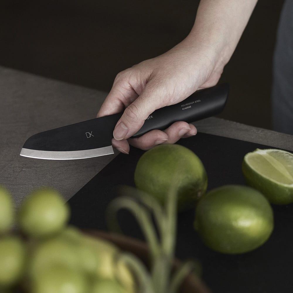 キッチン 家電 鍋 調理器具 包丁 ナイフ スライサー類 DYK(ダイク) 食洗機OK!ペティナイフ ブラック WX0928