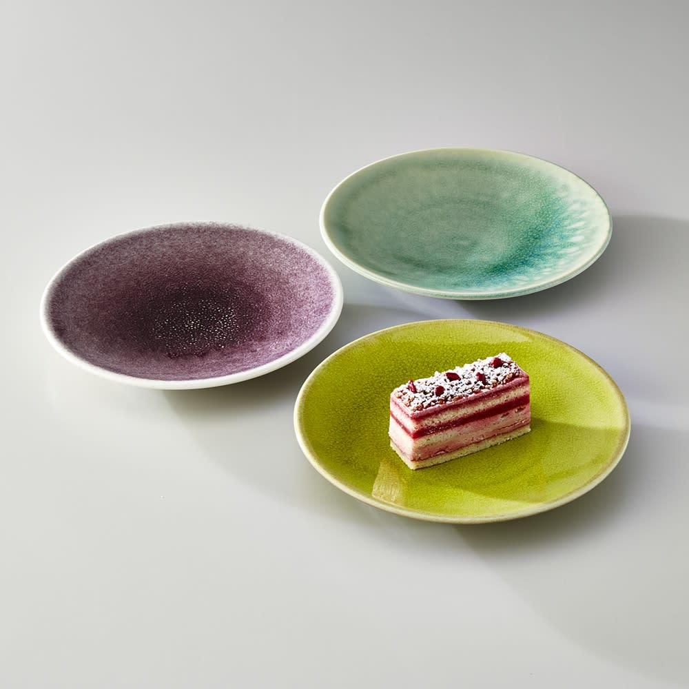 Jars デザートプレート TOURRON 同色2枚組 美しい色づかいでテーブルを華やかに演出するフランス製食器です。