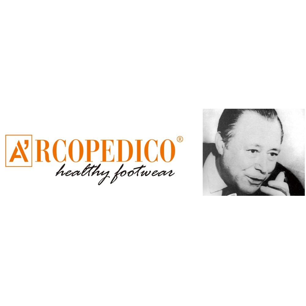 ARCOPEDICO/アルコペディコ バレリーナジオ1 「アルコペディコ」の創業者エリオ・パロディ氏。スイスのチューリッヒ大学で解剖学や人間工学を学び、足裏にかかる圧力を分散する靴底を考案。