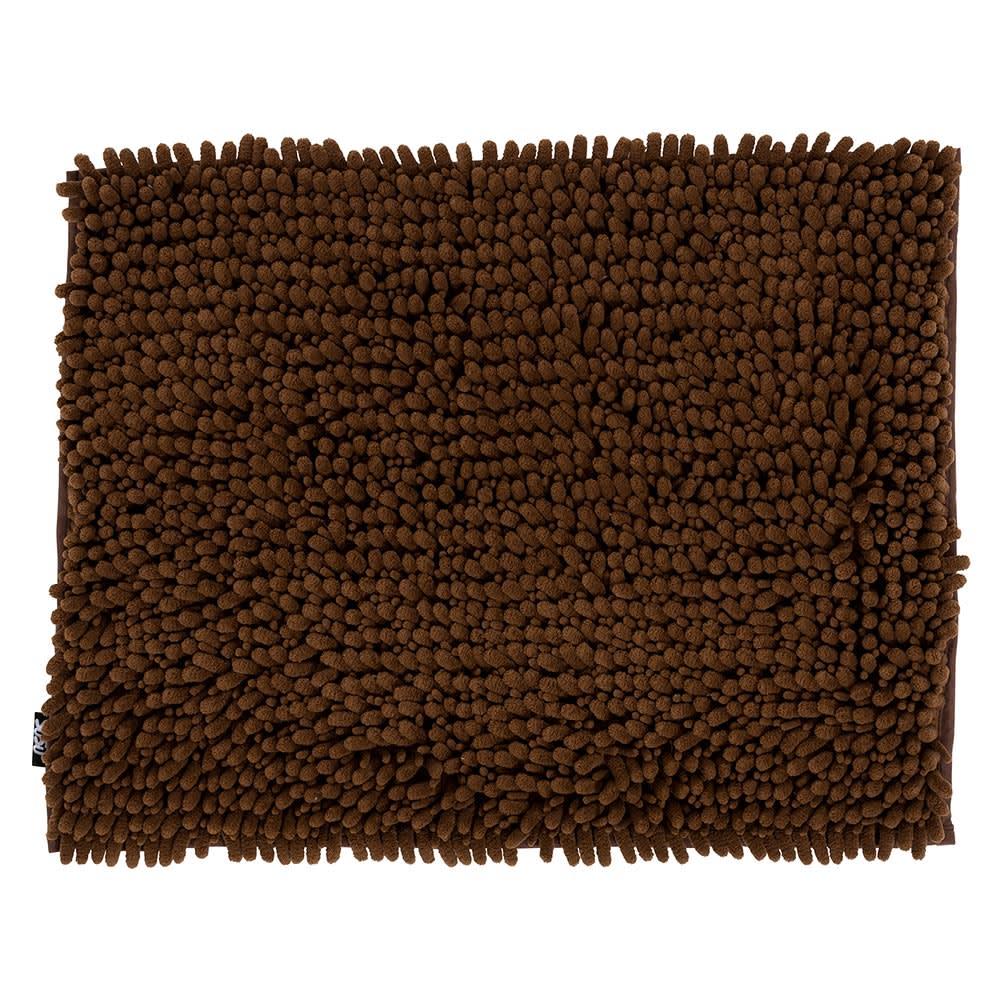 SUSU抗菌ストロングWバスマットM (カ)チョコレートブラウン