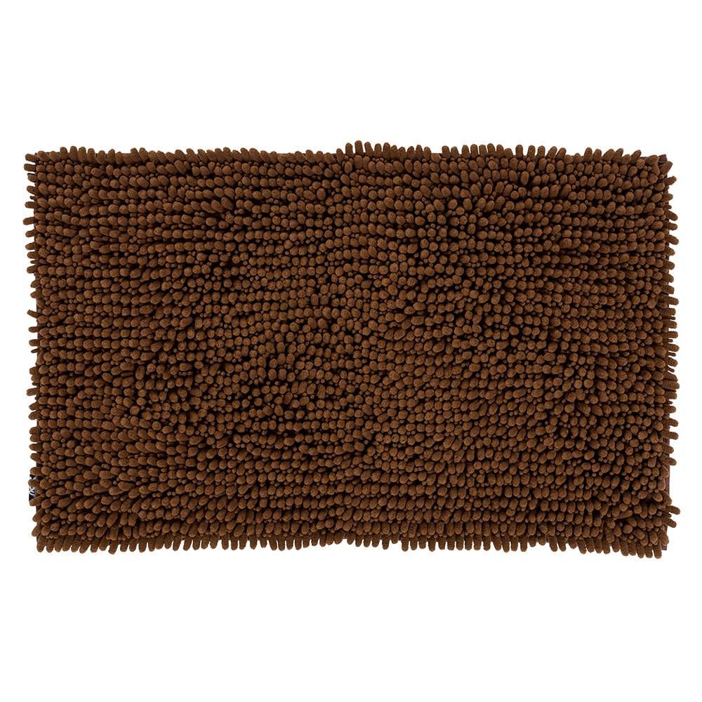 SUSU抗菌ストロングWバスマットL (カ)チョコレートブラウン