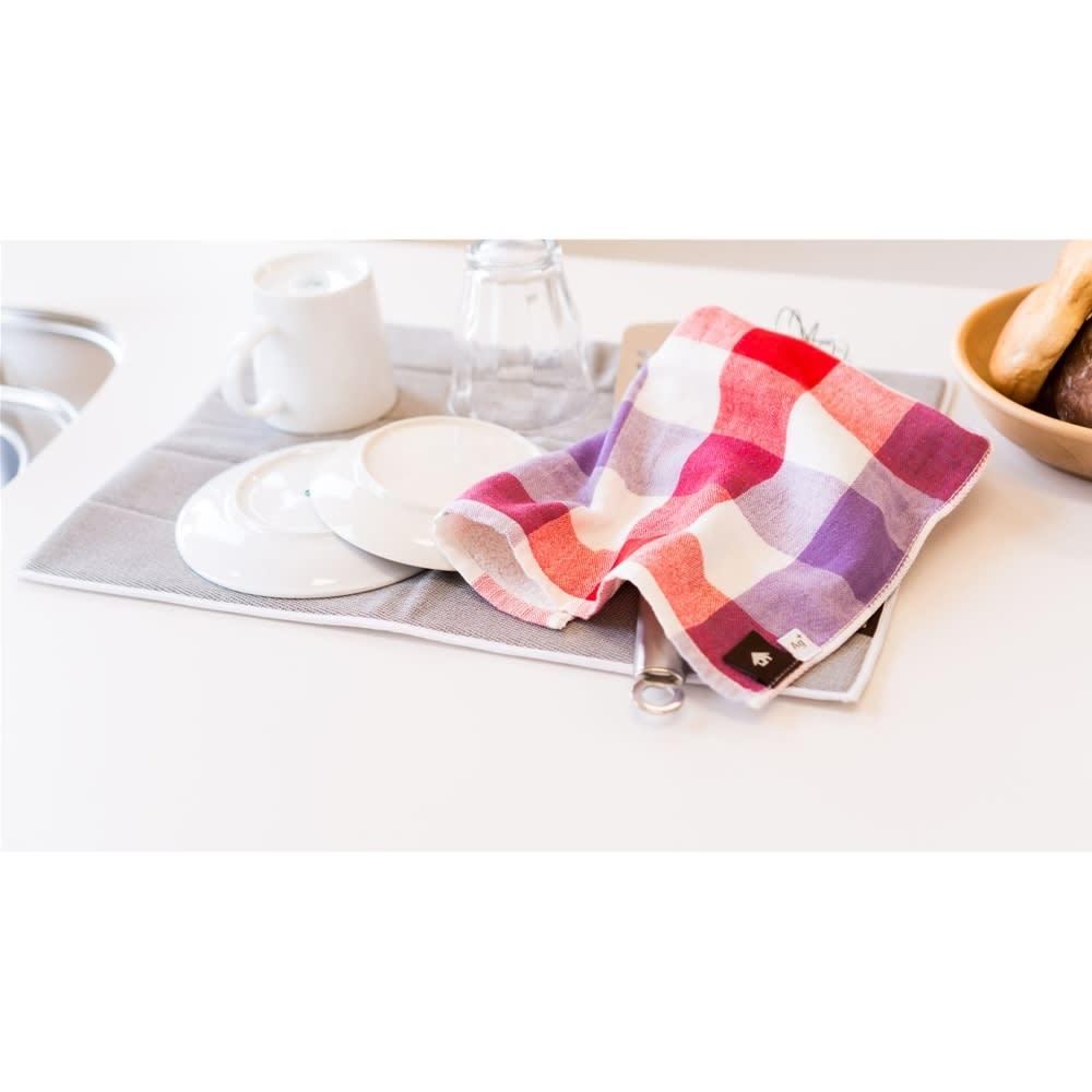 プリスAg+テーブルふきん同色2枚組