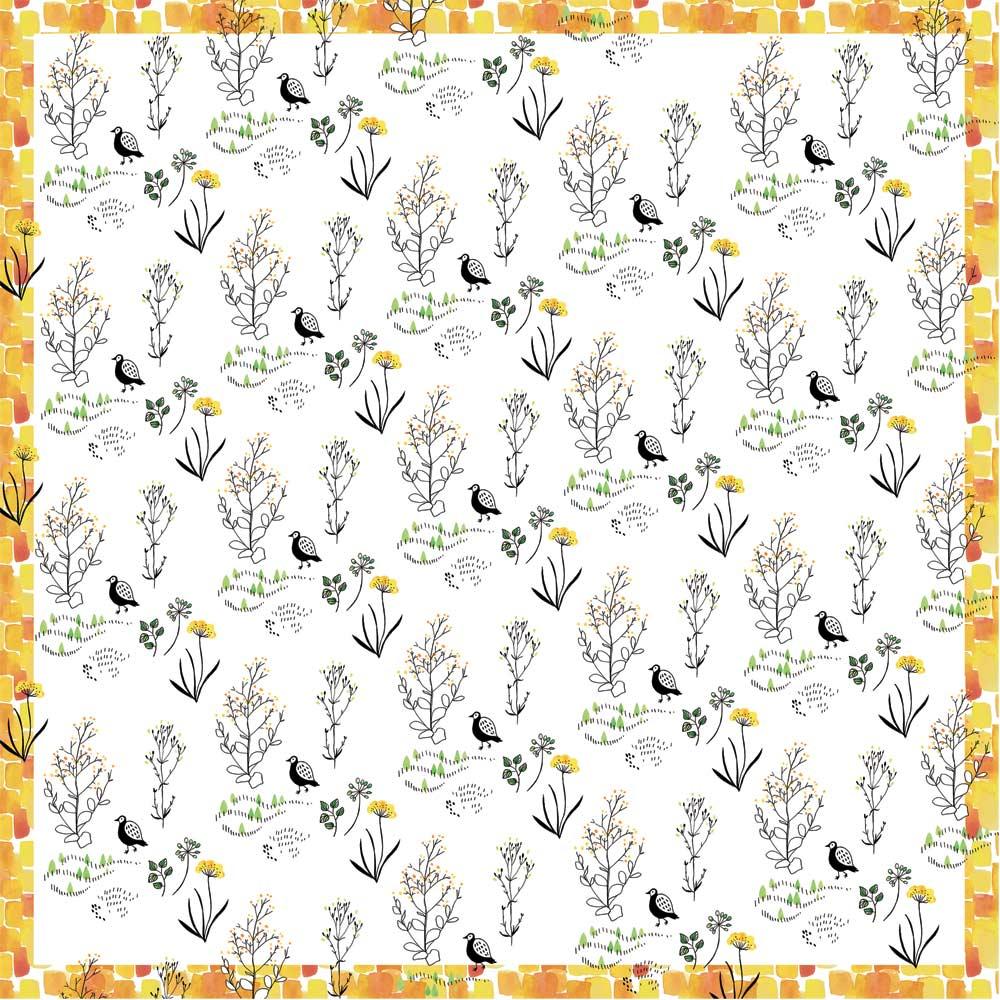 朝倉染布 濡れないはっ水風呂敷 (96×96cm) (ス)フィールド