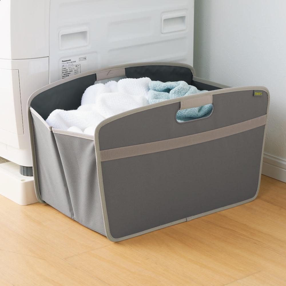 meori 収納BOXホームコレクション ホームサイズ (イ)グレー
