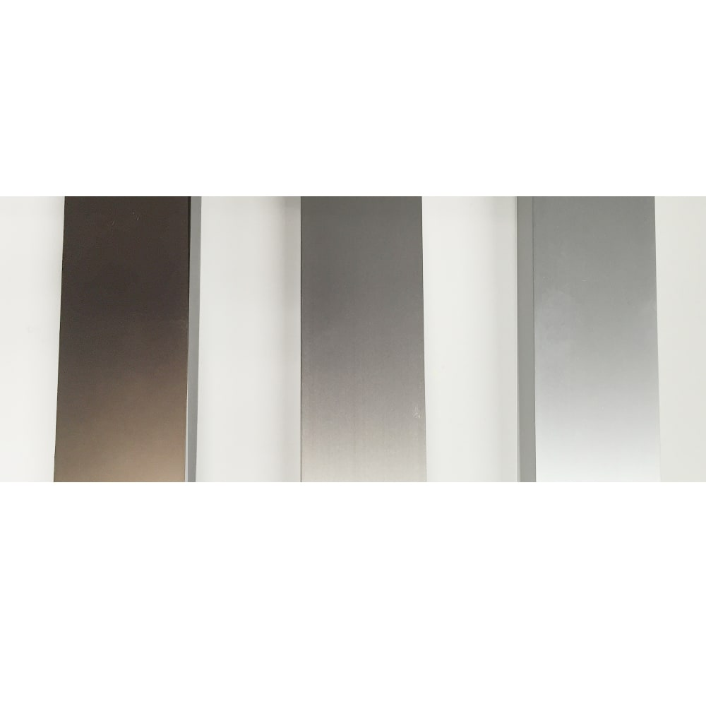 アルミ製 衣類&布団干し (室内物干し) 左から(ウ)ブラウン、(イ)シャンパンゴールド(ステンカラー)、(ア)シルバー