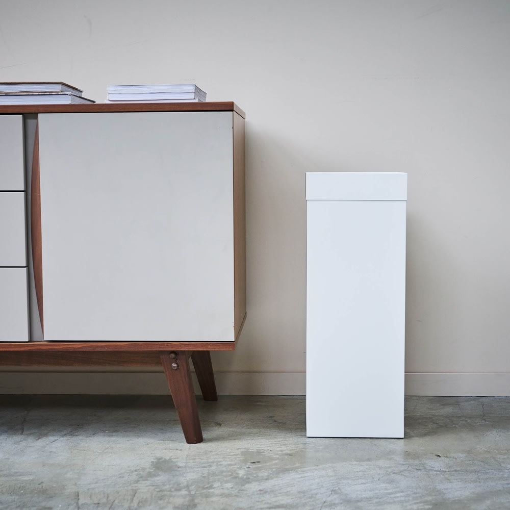 Tower/タワー トラッシュカン 角型ロング ダストボックス ゴミ箱に見えないおしゃれなデザインが魅力です。
