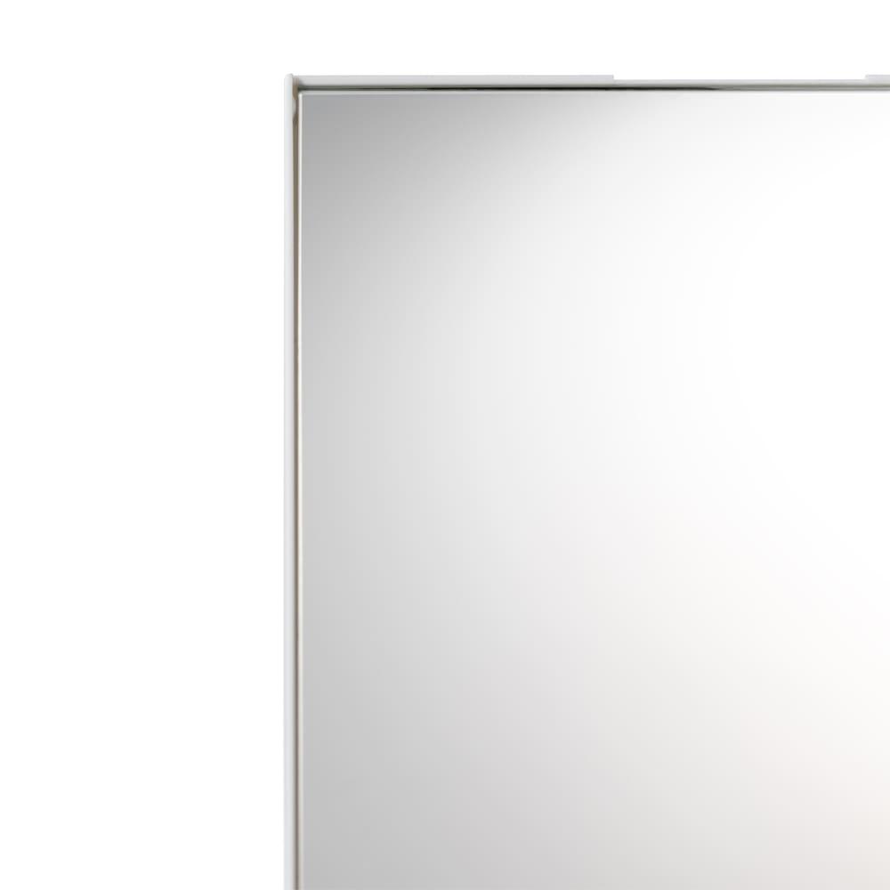 Like-it 持ち運びができる 樹脂製 メイクボックス  べんりな折り畳みの鏡付きです。