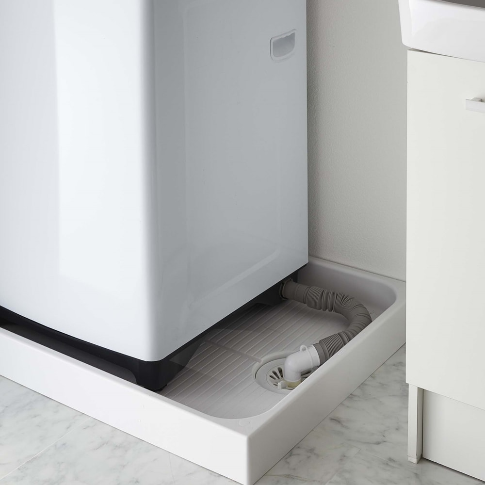Tower/タワー 伸縮洗濯機排水口上隙間ラック 困っていた、洗濯機周りのこんなスペースはありませんか?