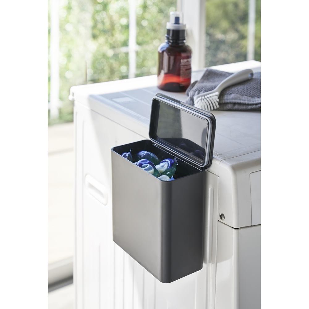 Tower/タワー マグネット洗濯洗剤ボールストッカー パッキン付きでニオイもガード。