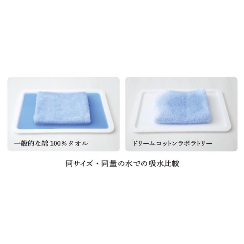 吸水ボリュームタオル 特許製法の糸「スーパーZERO(R)」を贅沢に使用(お届けの商品は画像右側です)